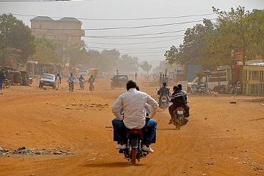 quartier non-loti Ouagadougou