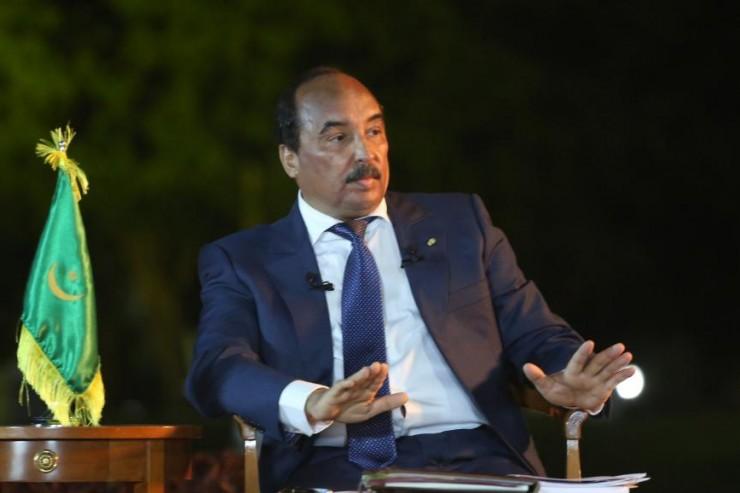 Le président Mohamed Abdel Aziz