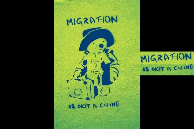 la migration n'est pas un crime