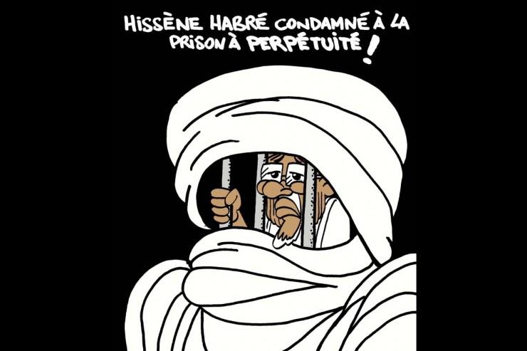 Hissène Habré en prison