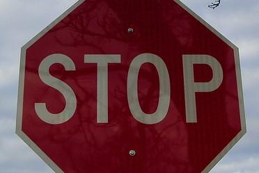"""panneau sécurité routière """"stop"""""""