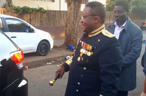 Article : Le Roi Mthimkhulu III soutient la cause des migrants africains