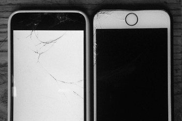 Smartphone cassés