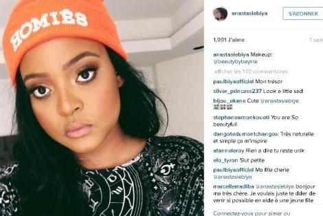 Brenda Biya sur Instagram