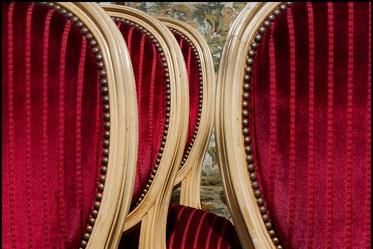 chaises en velours