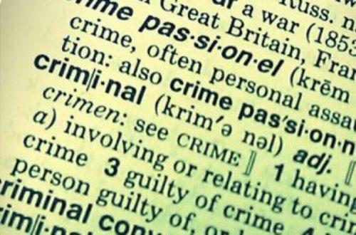 Article : Notre nouveau code pénal n'est pas camerounais