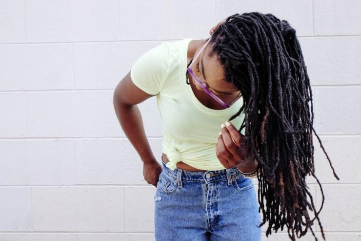 une jeune femme africaine
