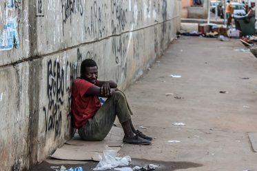 pauvreté dans les rues