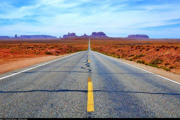 la route est longue mais le chemin est droit
