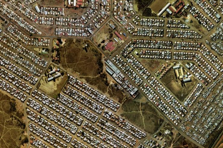 Soweto vue du ciel