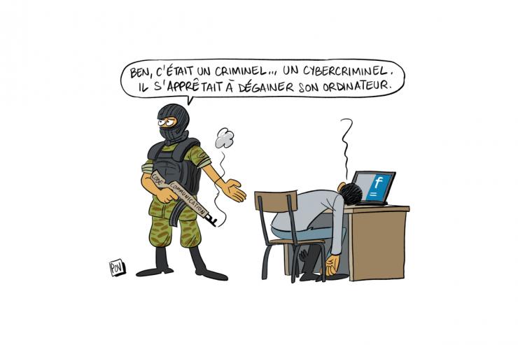 Cybercriminalité Madagascar POV
