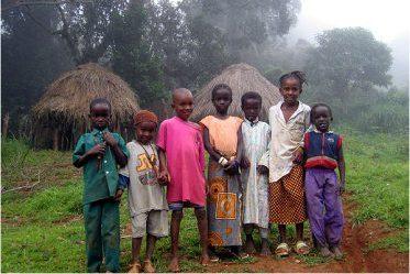 Guinéens du village de Doucky dans la région de Fouta Djallon