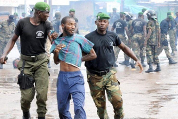 Armée Répression Manifestation Guinée Conakry