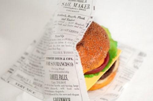 Article : Papier journal, un emballage pas forcément très sain pour nos aliments