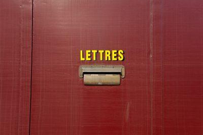 comme une lettre à la poste