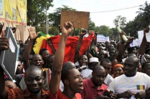 Article : Mali: Une jeunesse indignée tente de s'organiser