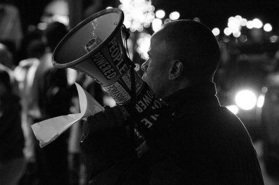 manifestation aux US suite aux bavures policières
