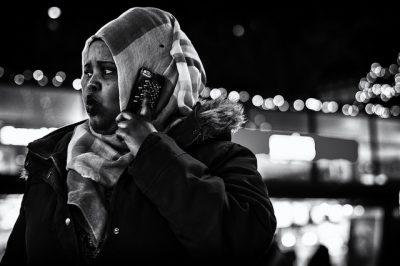 au téléphone, une mauvaise nouvelle