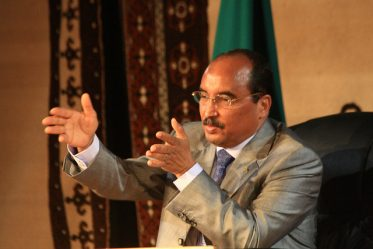 Le président mauritanien, Mohamed Ould Abdel Aziz
