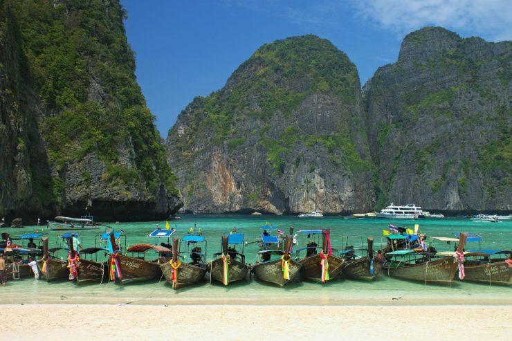 Une plage de Thaïlande