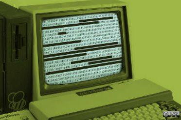 Un vieil ordinateur