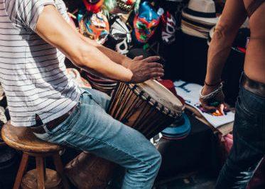 Musique, tam-tam