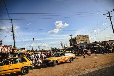 un taxi à Yaoundé