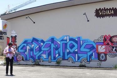 graffitis Sommet de la francophonie