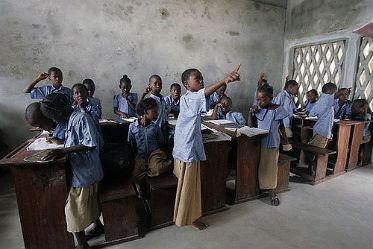 Une école au Bénin
