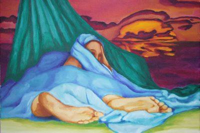 peinture de Khadija