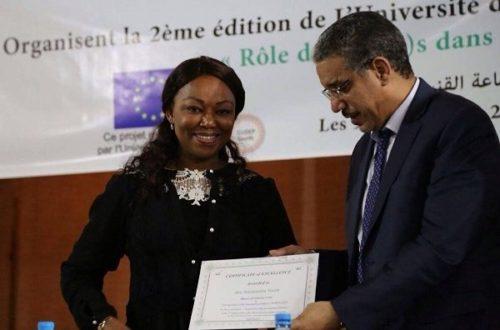Article : Côte d'Ivoire: Nasseneba TOURE, primée pour ses actions de développement durable à Odienné
