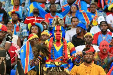 Des supporter congolais