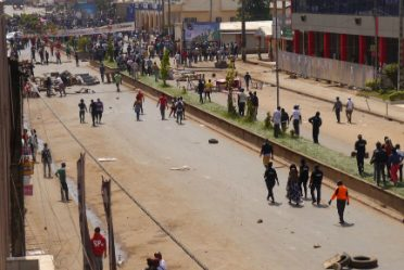 Les rues de Bamenda