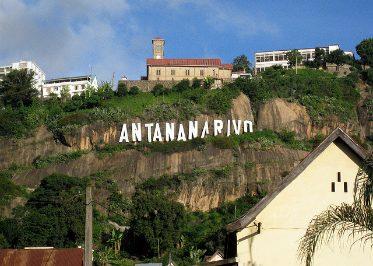 Les hauteurs de Antananarivo