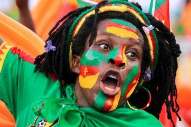 Un supporter du Cameroun