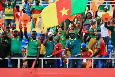 Des supporters camerounais