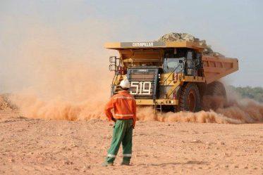 Un camion au Mali