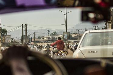Les taxis de Yaoundé.