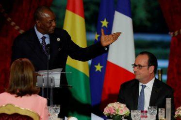 Alpha Condé et François Hollande