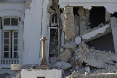 Le tremblement de terre en Haïti de 2010.