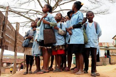 Des enfants à lécole - Madagascar