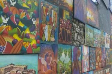 Une exposition à ciel ouvert en Haïti.