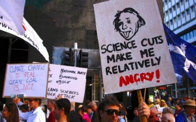 Manifestation pour la science