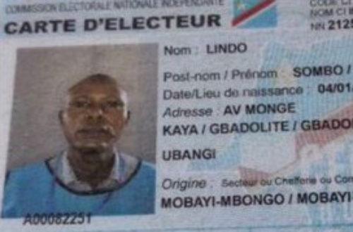 Article : En RDC, des citoyens sans identité