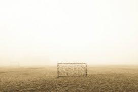 Une cage de foot