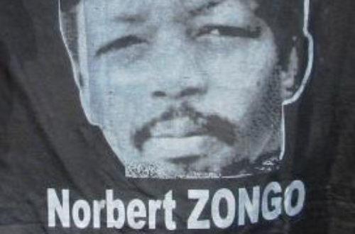 Article : Norbert Zongo : Martyr de la liberté de la presse au Burkina !