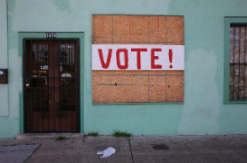 Article : Présidentielle : vote d'abord, agis ensuite !