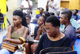 Les blogueurs camerounais en formation