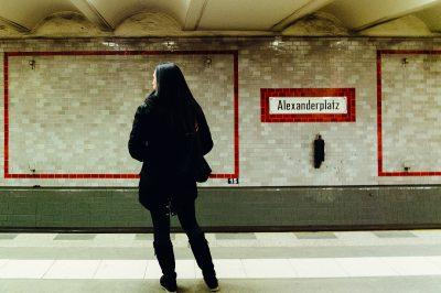 Station de métro berlinoise