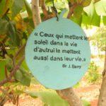 Les petits mots de l'éco-village